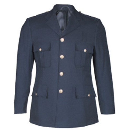 100% Poly Single Breasted Class A Dress Coat - CAPT