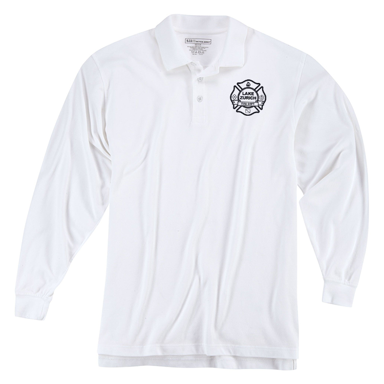 5.11 Utility Long Sleeve Polo - CAPT